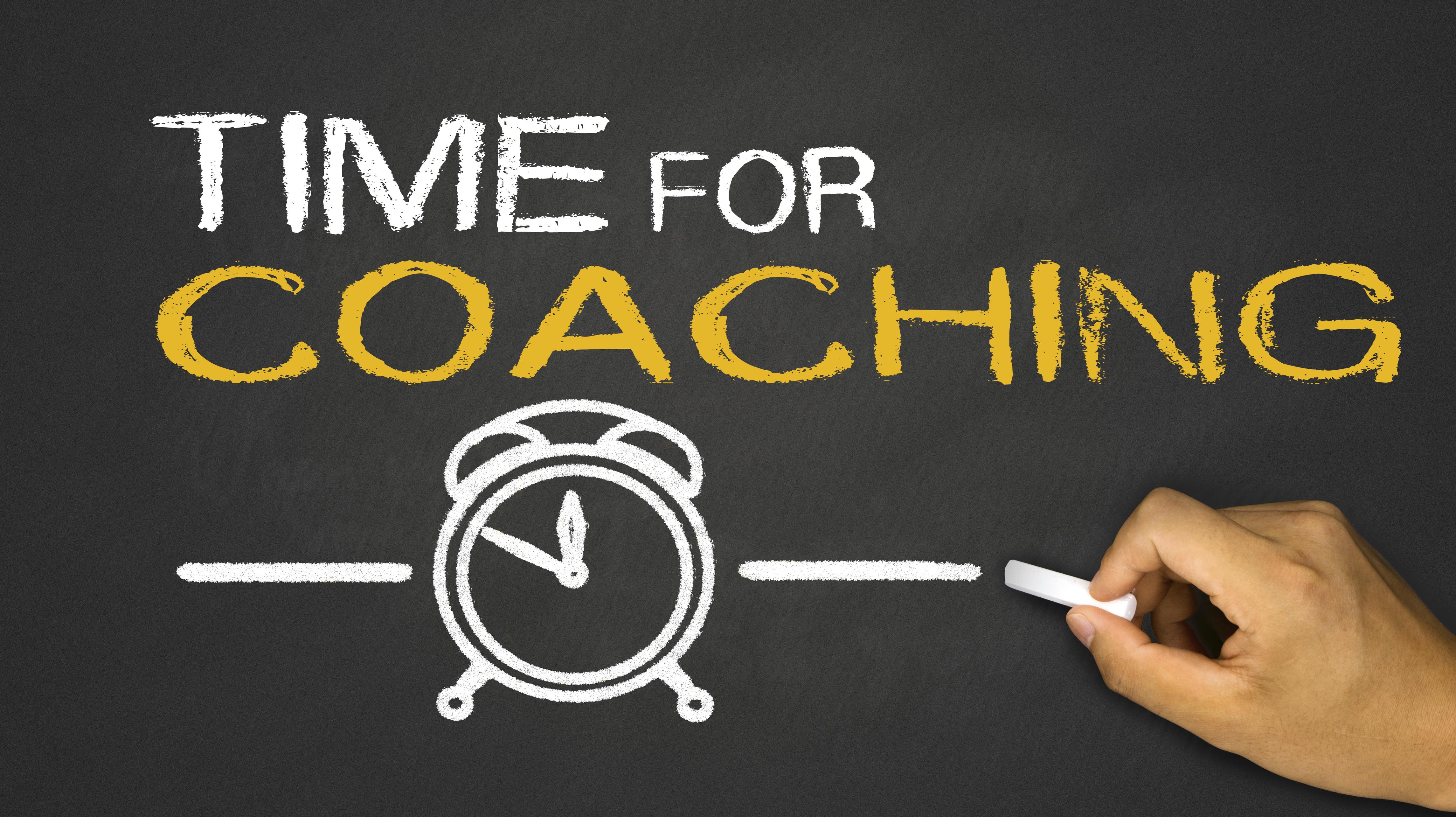 time for coaching on blackboard